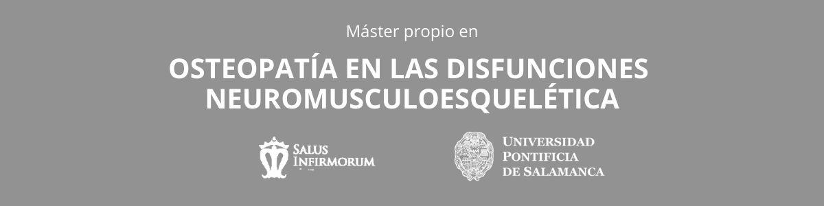 OSTEOPATÍA EN LAS DISFUNCIONES NEUROMUSCULOESQUELÉTICA